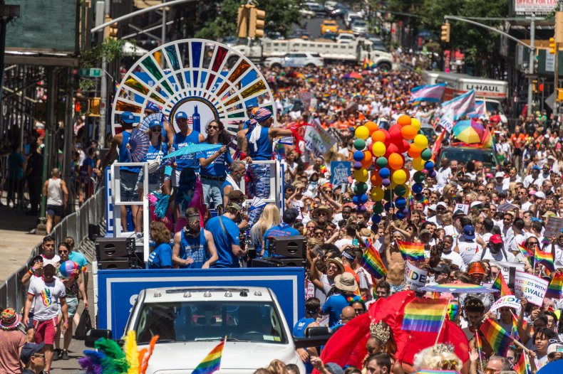 World Pride March NYC 2019