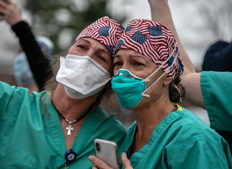 U.S. Coronavirus Deaths Per Day