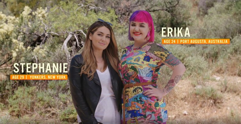 Stephanie and Erika