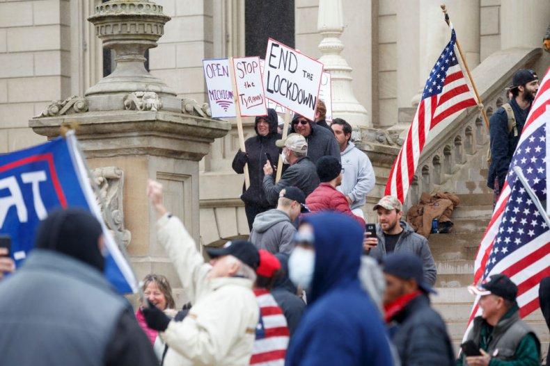 Lansing protest