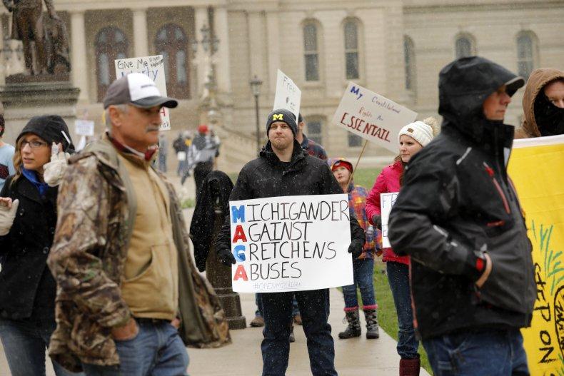 Michigan protester