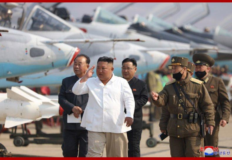 north, korea, kim, air, force, drills