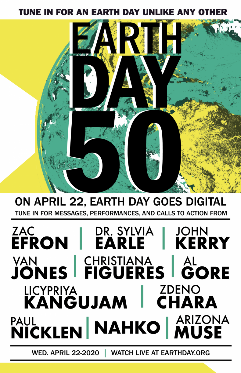 Earth Day 2020 Poster 2