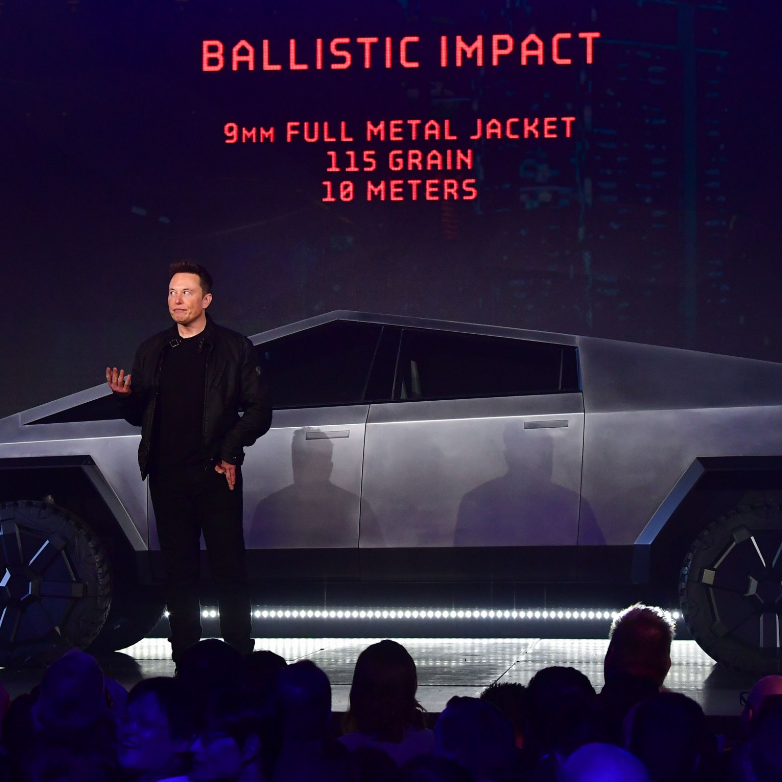 Elon Musk Says The Tesla Cybertruck Will Be Able To Float For A While