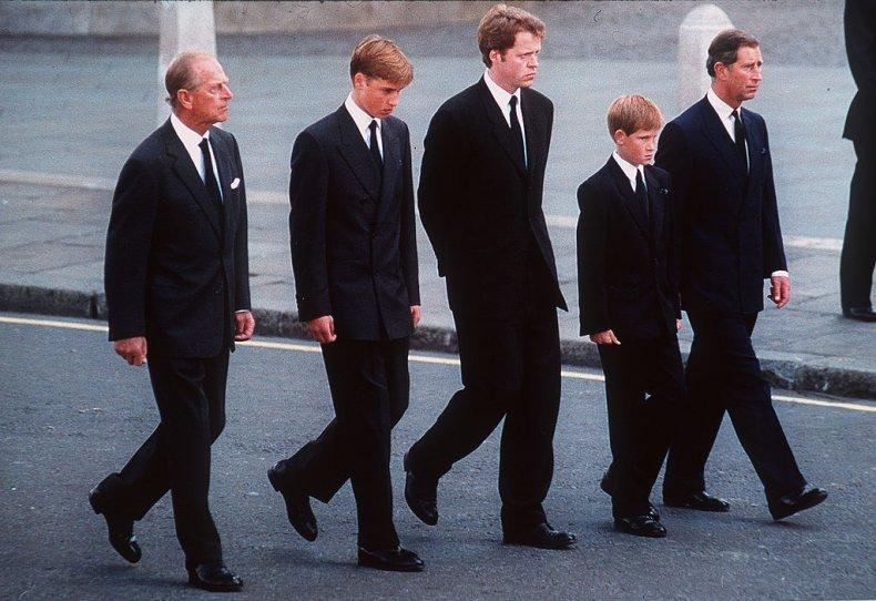 Princess Diana Funeral Procession