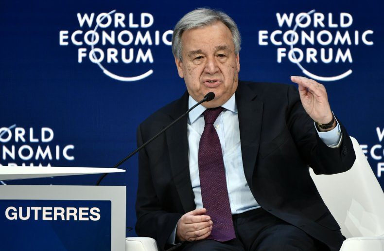 united nation secretary general guterres