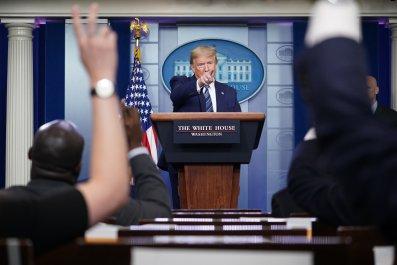Trump briefing April 21