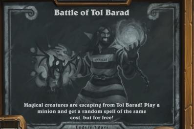 hearthstone tavern brawl battle of tol barad