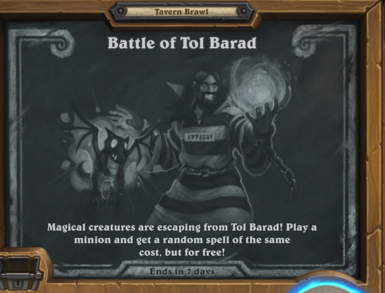 hearthstone tavern brawl battle of tol barad