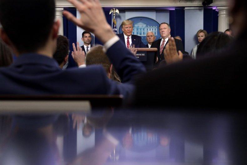 Trump Pompeo Iran