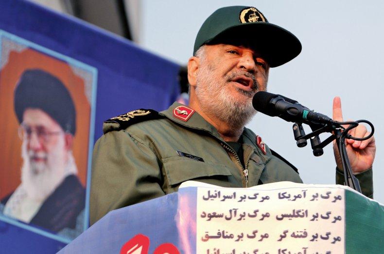 Hossein Salami, Iran, Persian Gulf, US, ships