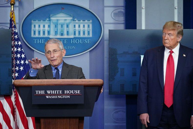 Trump Fauci 4-13 briefing