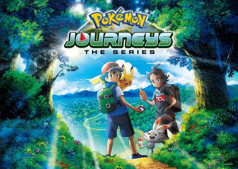 pokemon journeys the series anime netflix