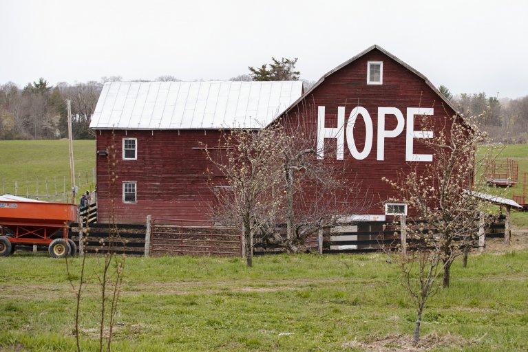 Hope barn, NY