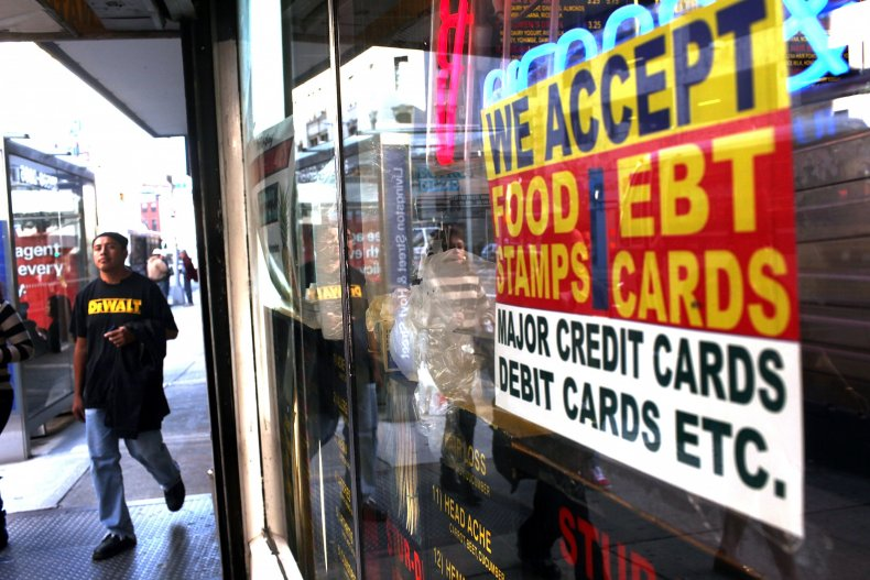 Food stamps and food assistance
