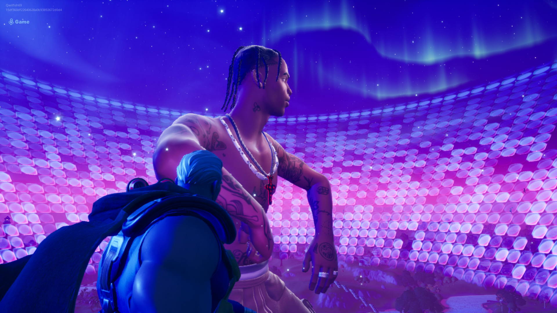 Fortnite Travis Scott Concert Premieres New Kid Cudi Track In Astronomical