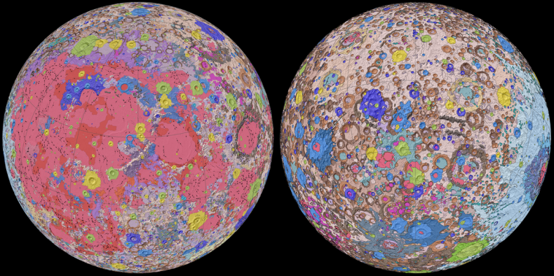 Unified Geologic Map of the Moon