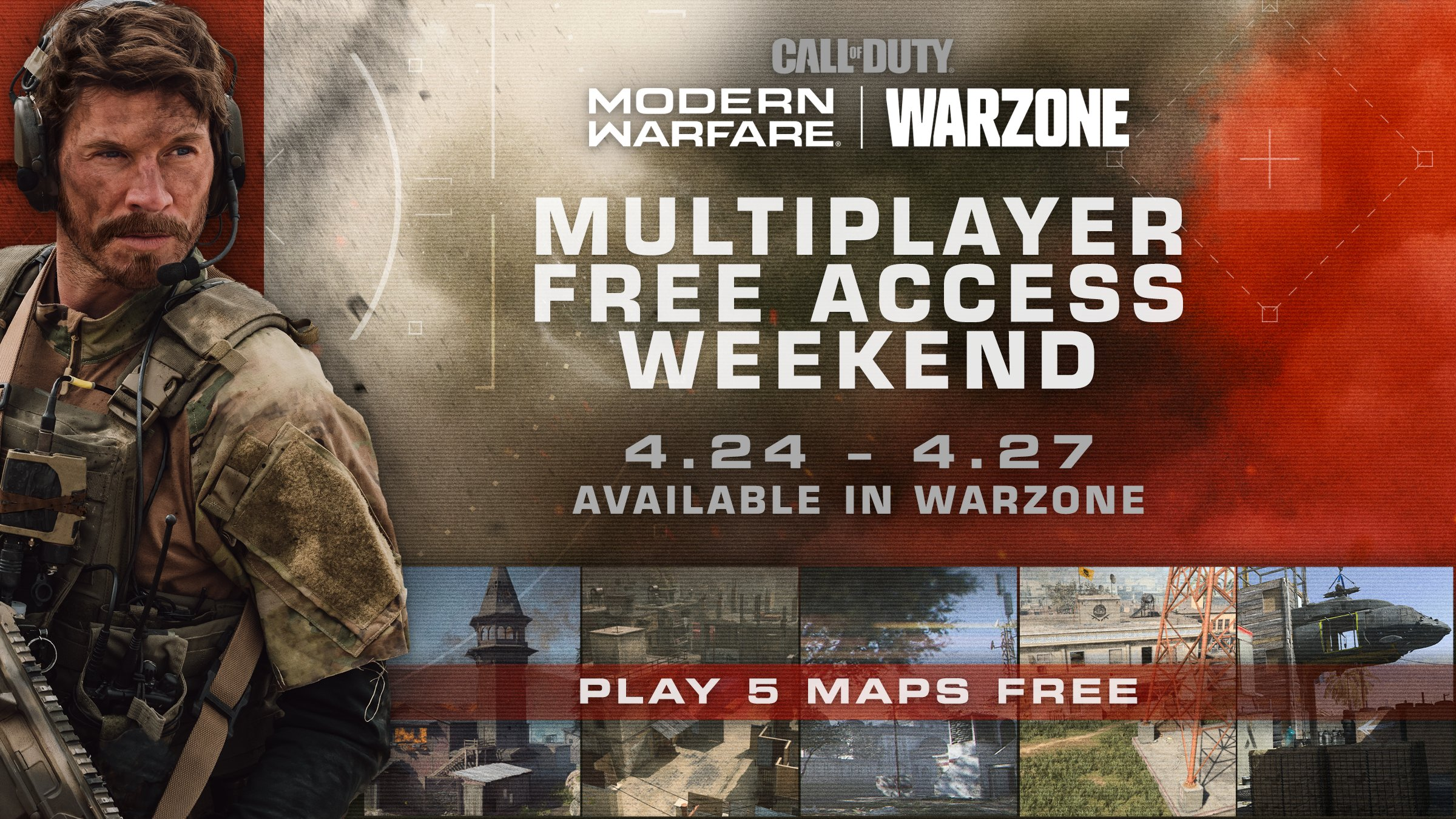 Call Of Duty Modern Warfare Free Multiplayer This Weekend When