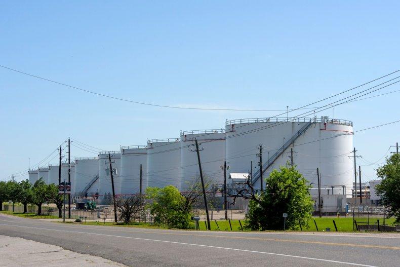 Oil storage Houston