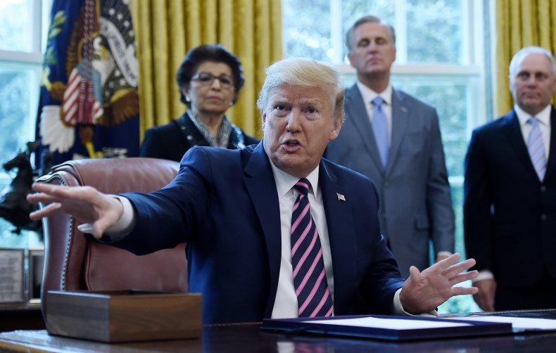 Trump signing 4-24