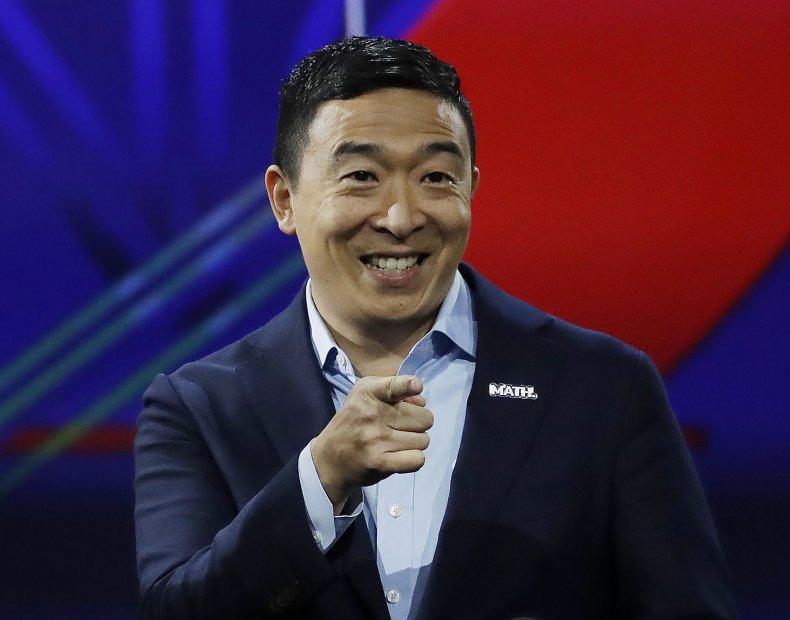 Andrew Yang Universal Basic Income Democratic 2020