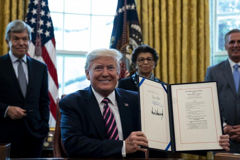 Trump 4-24 bill signing