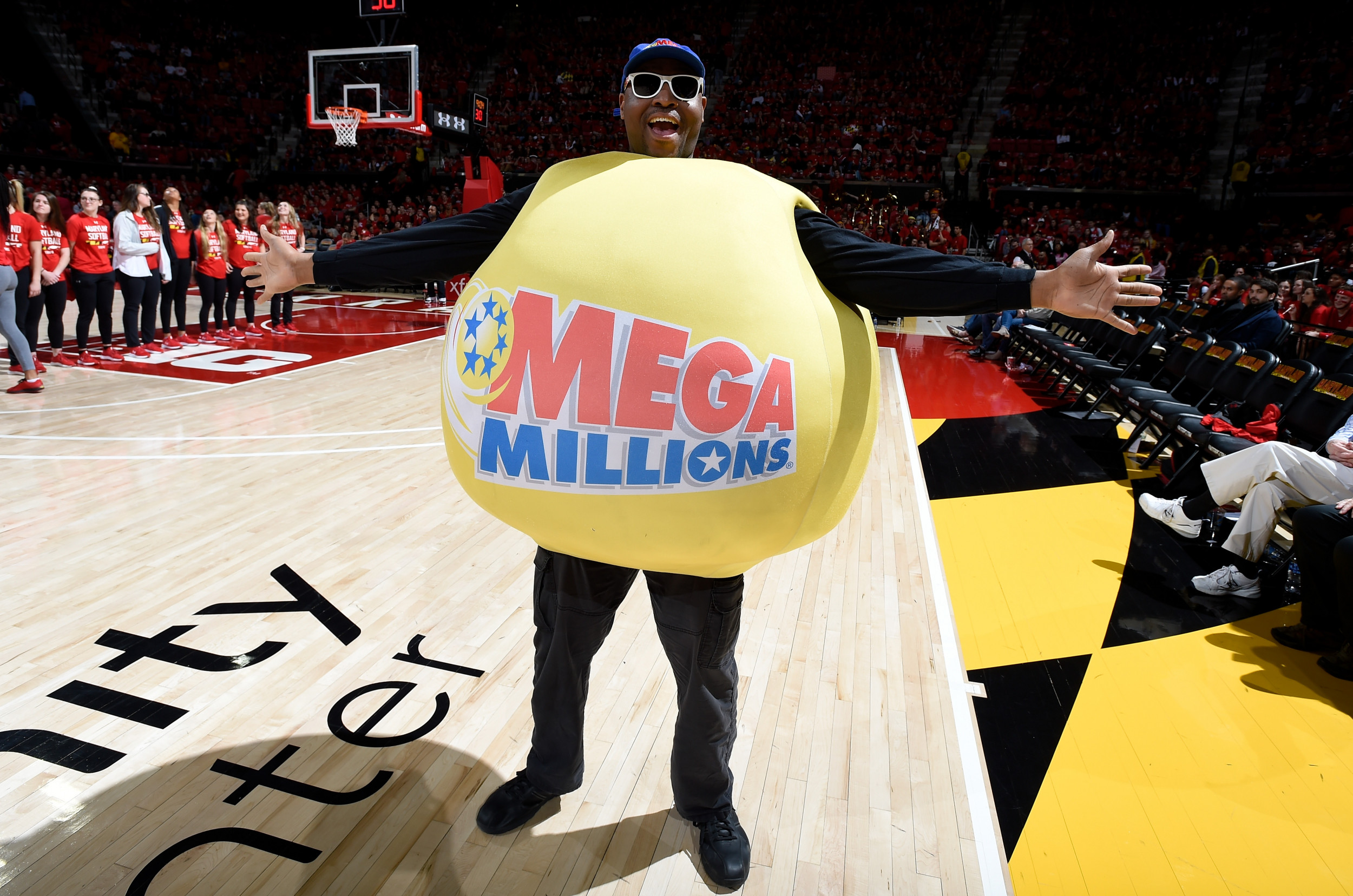 Getty Images Mega Millions Mascot