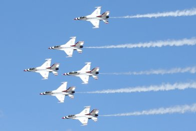 U.S. Air Force Air Demonstration Squadron Thunderbirds