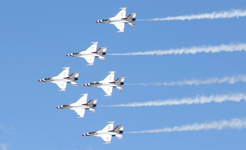 U.S. Air Force Air Demonstration Squadron Thunderbirds
