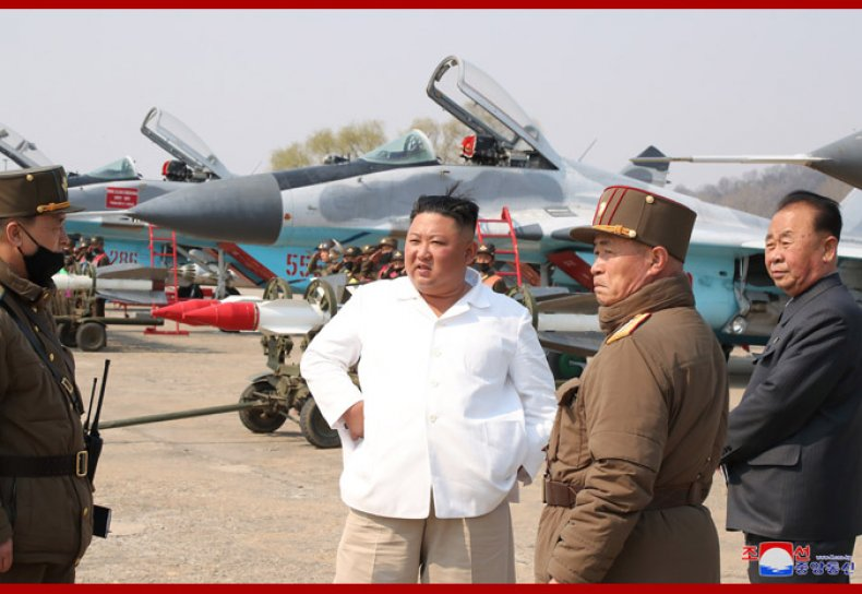 north, korea, kim, air, force, drills, appearance
