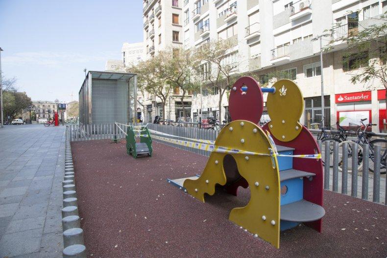 Getty Images Spain Lockdown