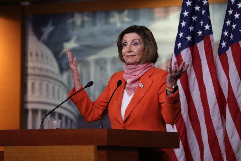House Speaker Nancy Pelosi at Coronavirus Briefing