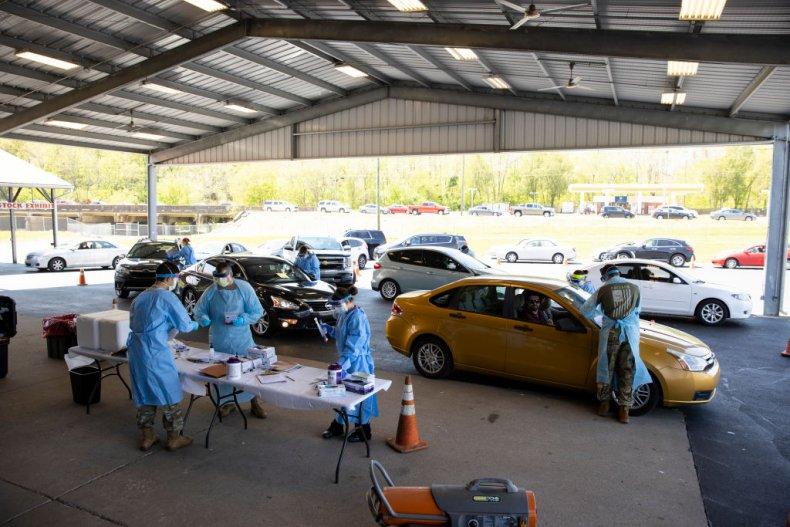 Tennessee coronavirus testing
