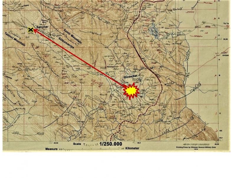 meteorite death map