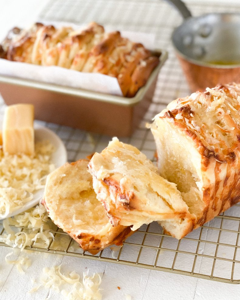 Four-Cheese Pull-Apart Milk Bread