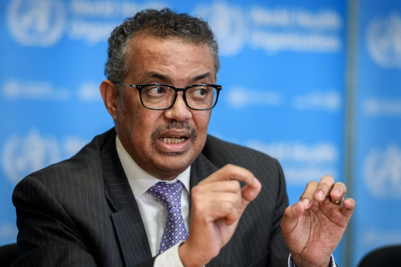 World Health Organization, Tedros Adhanom Ghebreyesus