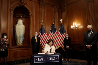 next coronavirus relief bill Congres
