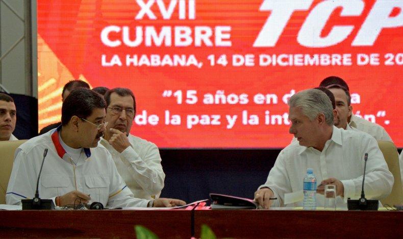 venezuela, nicolas, maduro, cuba, miguel, diaz-canal