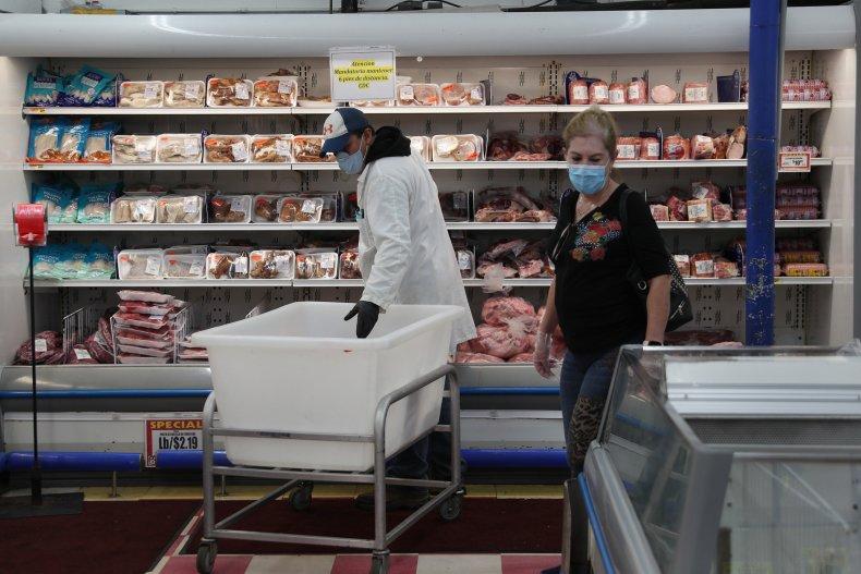Supermarket in Miami