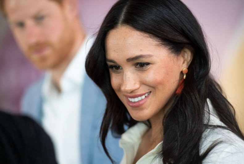 Meghan Markle in Tembisa Township