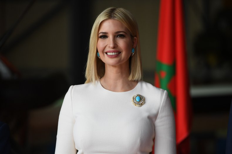 ivanka trump donation hospital health care workers