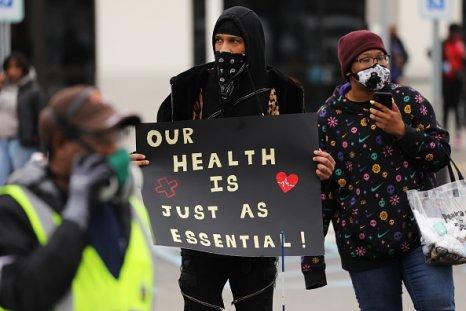 Amazon worker strike Staten Island
