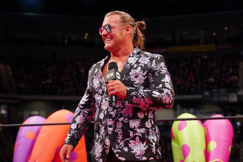 AEW Le Champion Chris Jericho Headshot 2020