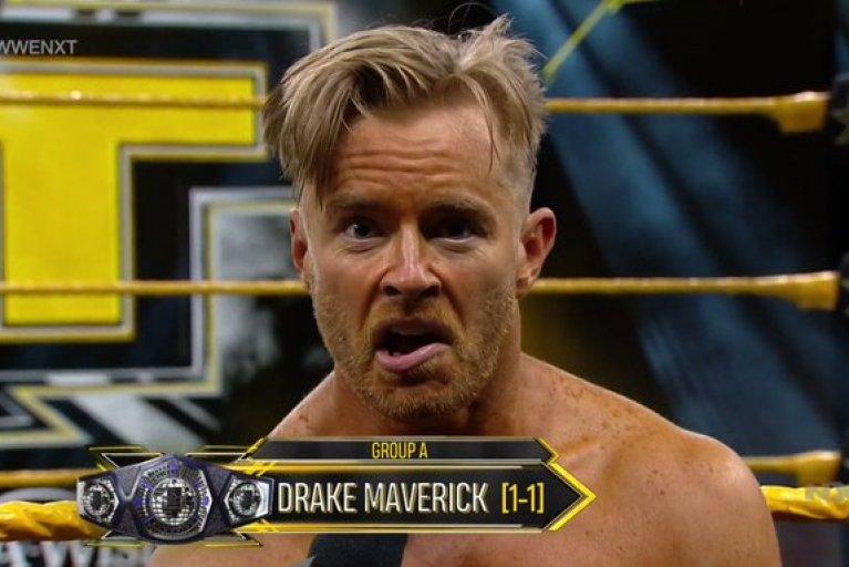 drake maverick wins wwe nxt