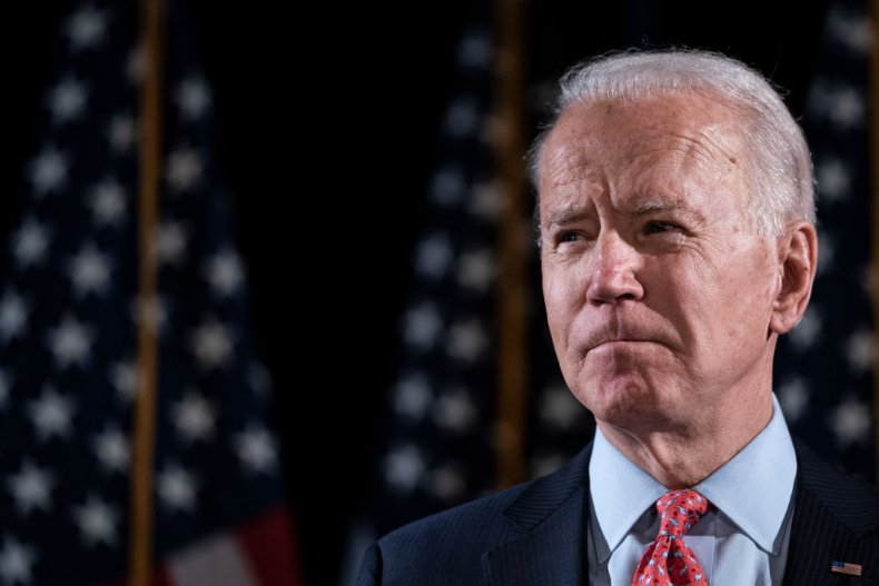 Joe Biden Delivers Remarks Coronavirus Outbreak
