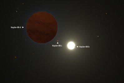Kepler-88 planetary system