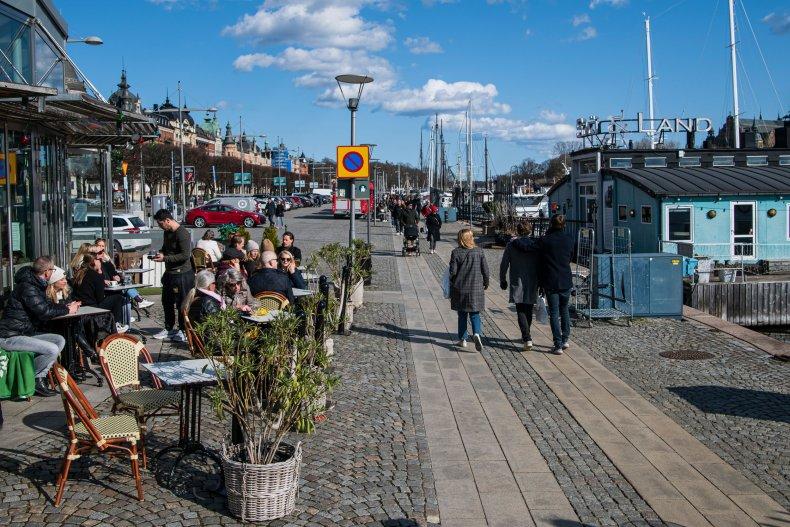 Stockholm, Sweden, April 2020