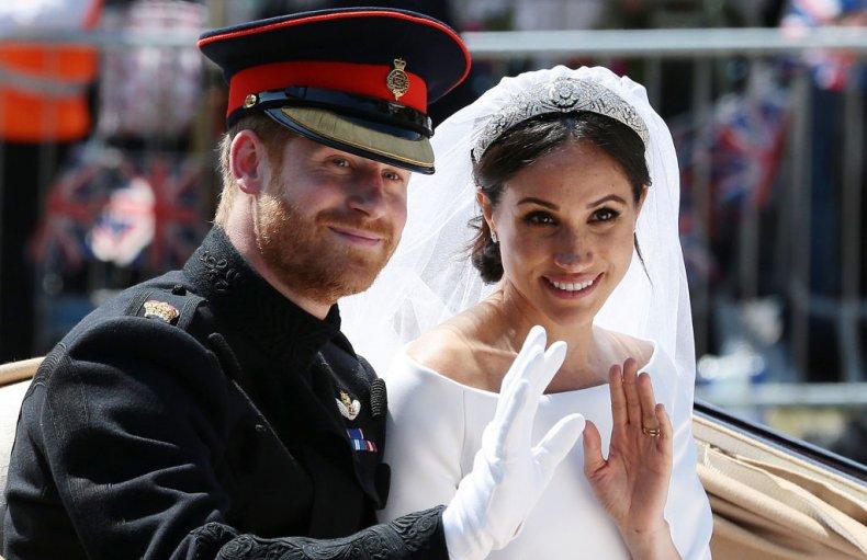 Prince Harry and Meghan Markle Carriage