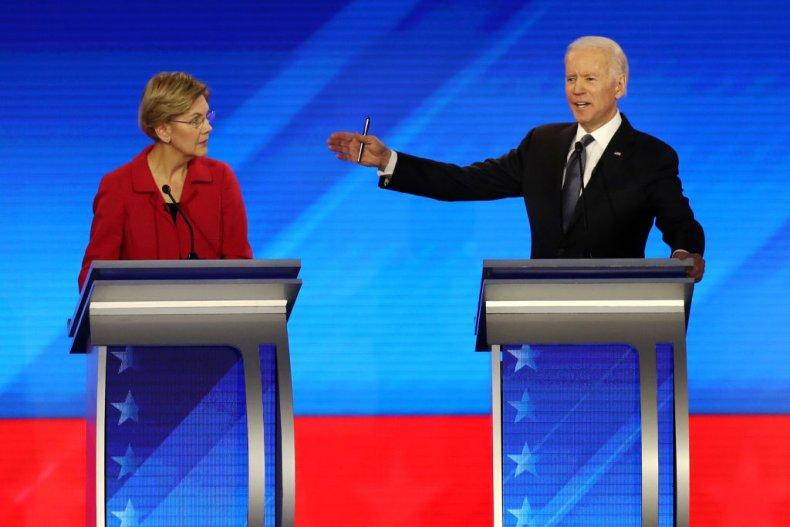 Warren and Biden