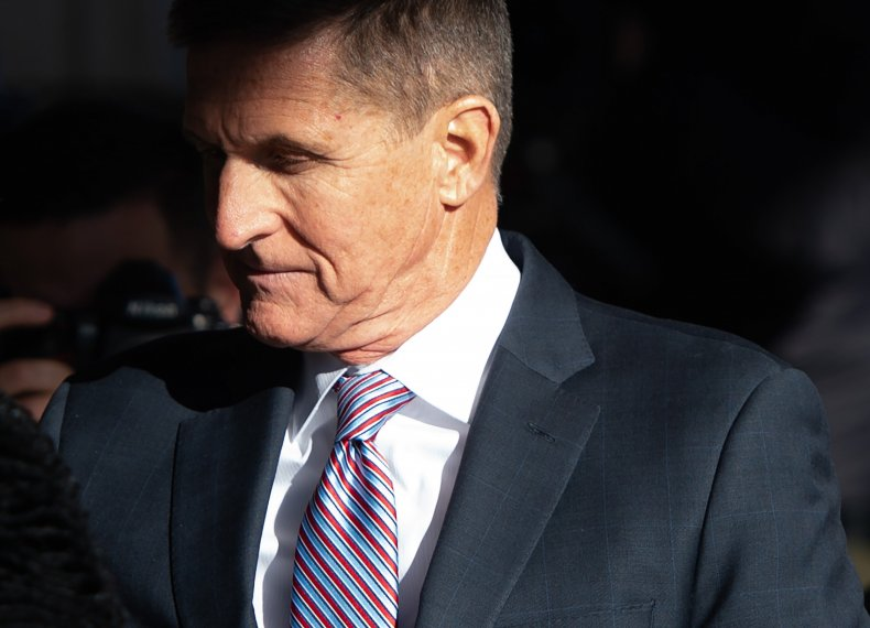 Ex-U.S. National Security Advisor General Michael Flynn